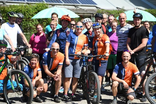Instruktörer på Mountainbikeskolan