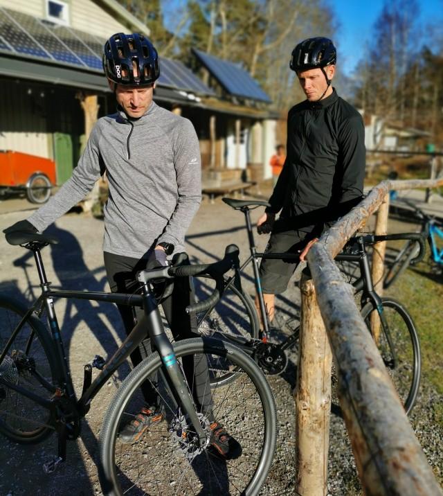 Vi hyr i år ut gravelcyklar, vi kör med Trek Checkpoint 5